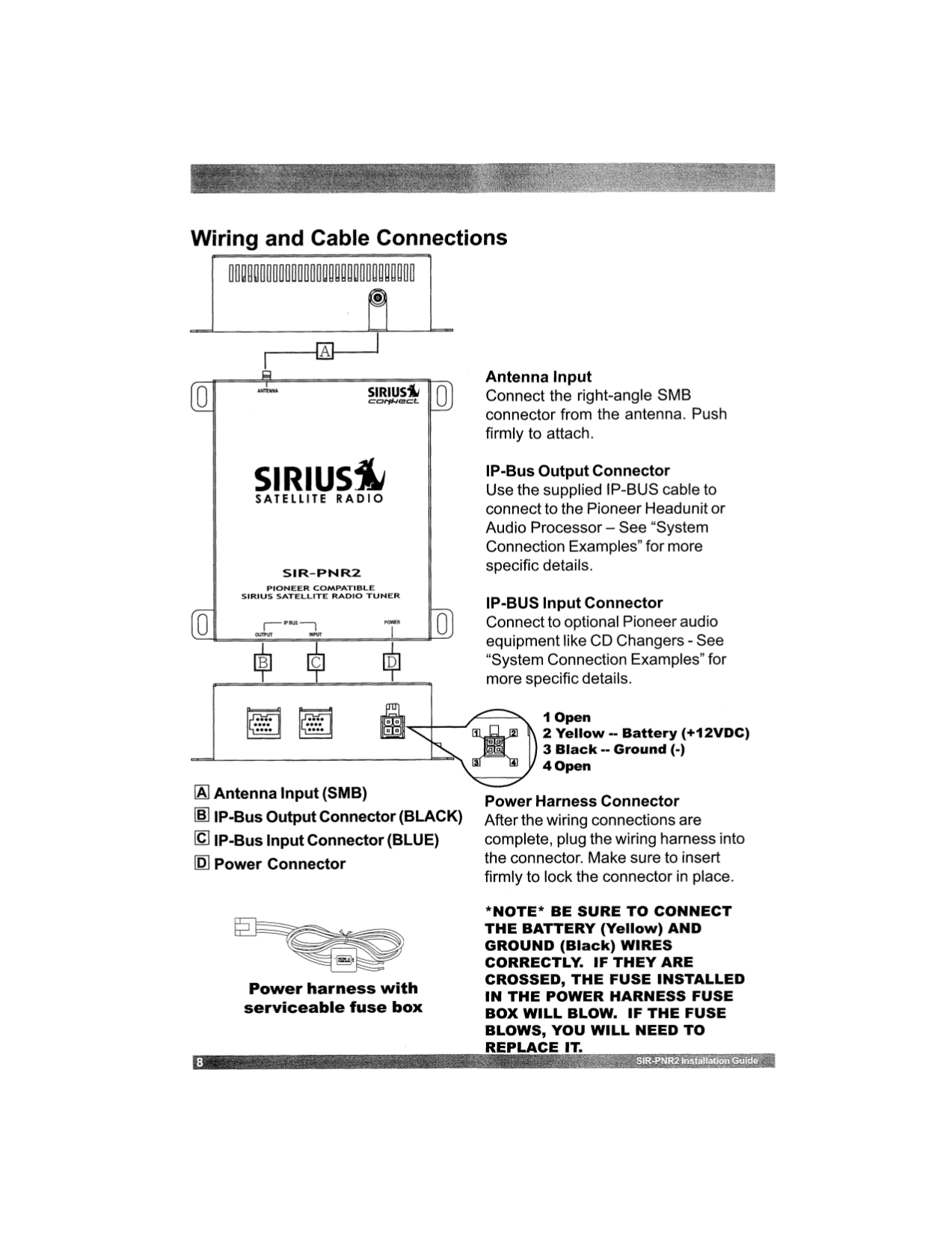 Pdf Manual For Pioneer Car Receiver Deh P4800mp Ip Wiring Harness