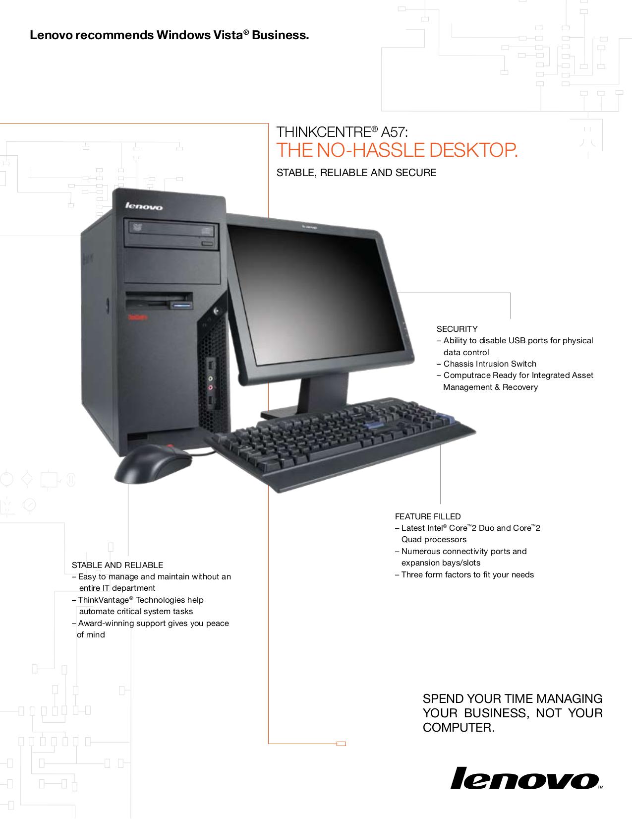 pdf for Lenovo Desktop ThinkCentre A57 9794 manual