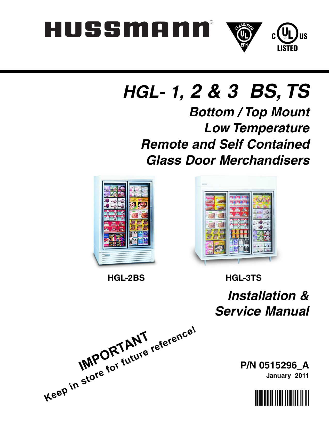 Hussmann Other SI3 Merchandisers pdf page preview