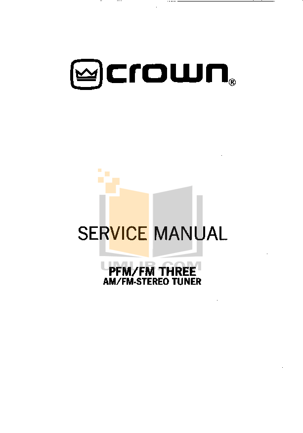 pdf for Crown Other FM-2 Stereo Tuners manual