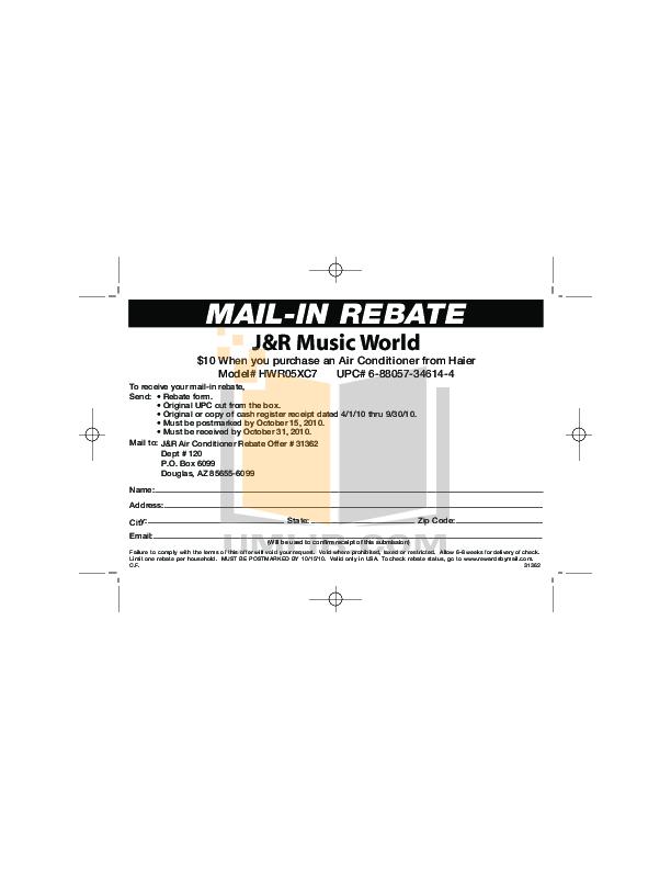 download free pdf for haier hwr05xc7 air conditioner manual rh umlib com Haier Furnace Manual Haier Service Manual