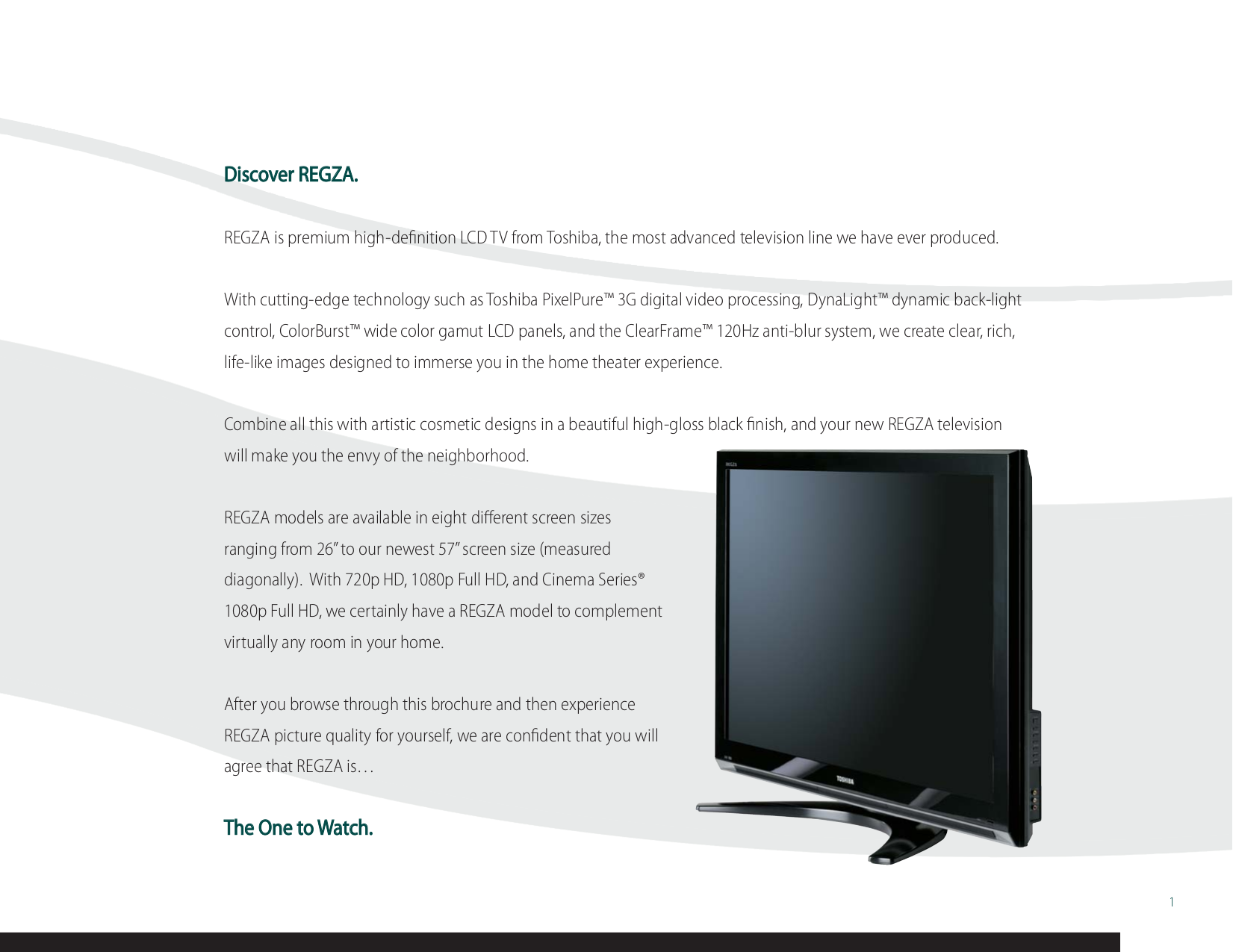 pdf manual for toshiba tv regza 42lx177 rh umlib com Toshiba Cinema Series Manual Toshiba LCD REGZA Manual