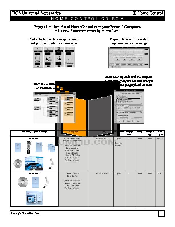 Hitachi TV 55EX9K pdf page preview