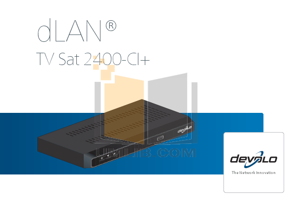 pdf for Devolo Other dLAN TV Sat Adapter manual
