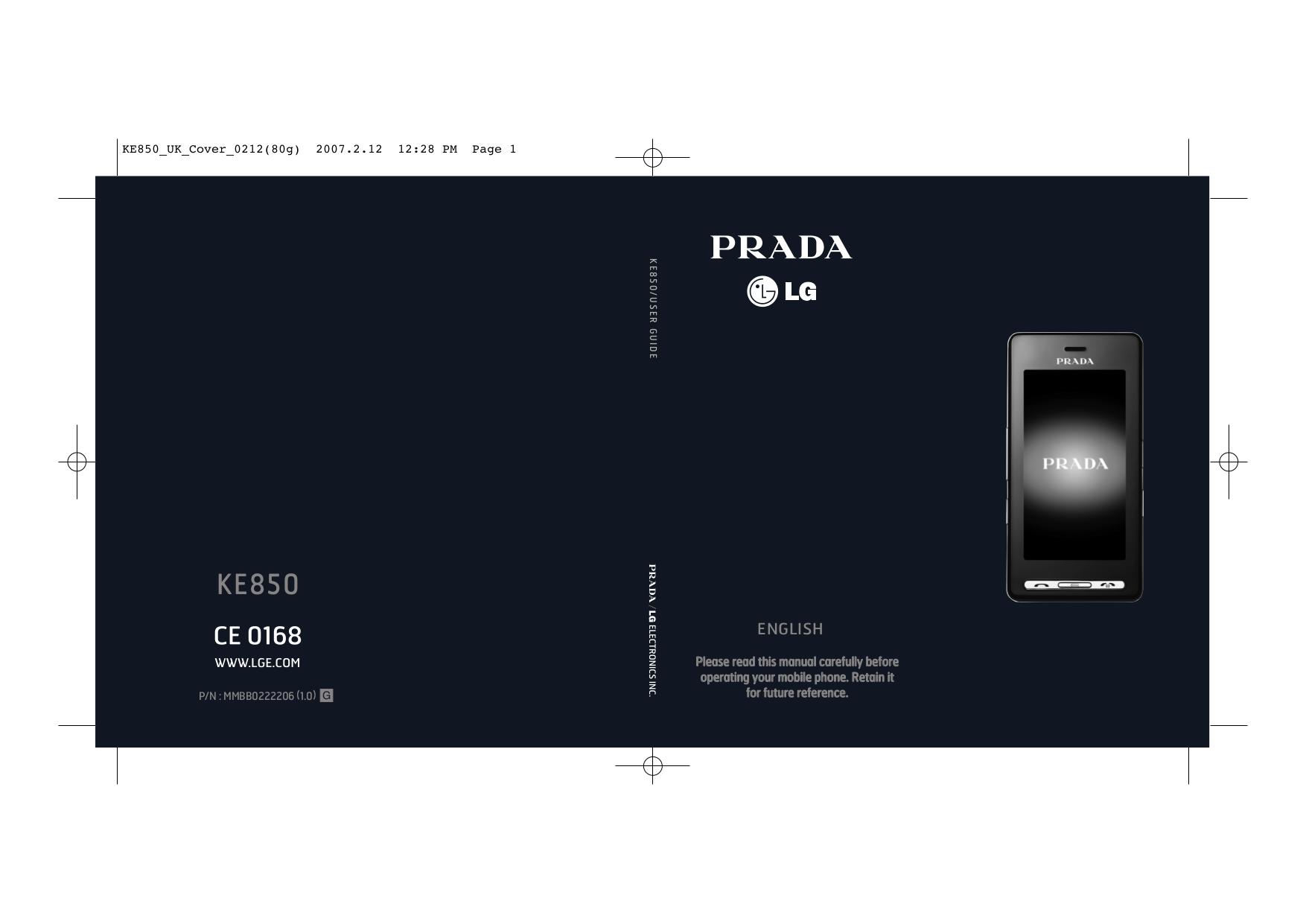 download free pdf for lg prada cell phone manual rh umlib com lg prada ke850 manual