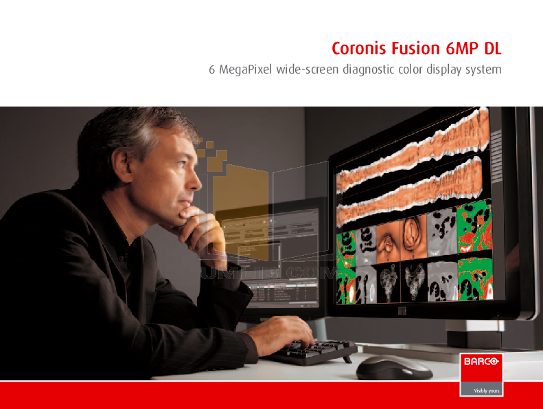 pdf for Barco Monitor Coronis Fusion 6MP manual
