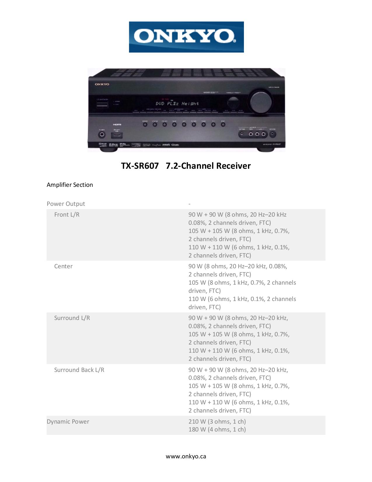 download free pdf for onkyo tx sr607 receiver manual rh umlib com onkyo tx-sr607 service manual pdf onkyo tx-sr607 service manual pdf