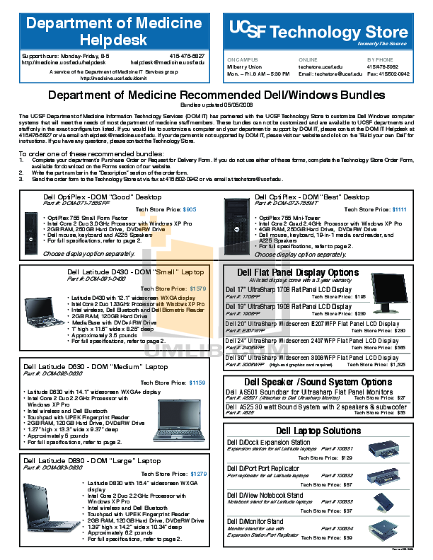 Download free pdf for Dell Latitude D630 Laptop manual