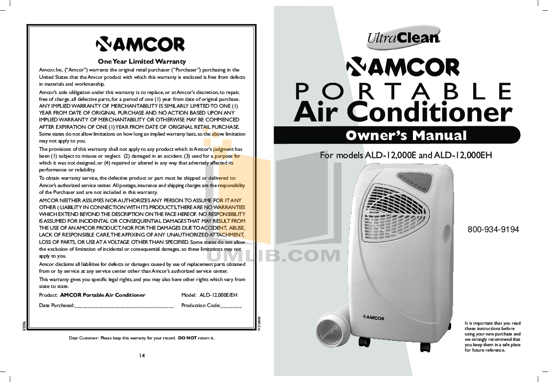 download free pdf for amcor ald12000e air conditioner manual. Black Bedroom Furniture Sets. Home Design Ideas