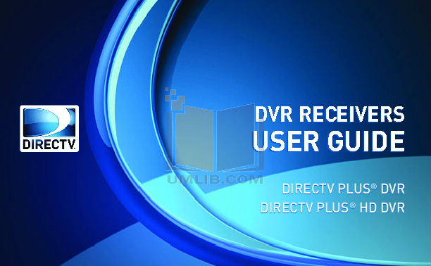 pdf for DirecTV DVR R15 manual