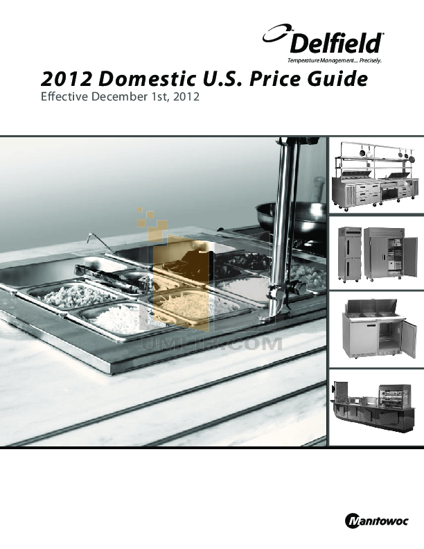 pdf for Delfield Refrigerator SAR1N-S manual