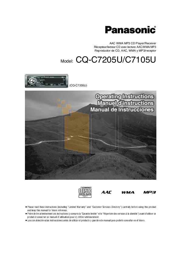 pdf for Aquatic CD Player AQ-DM-1R manual