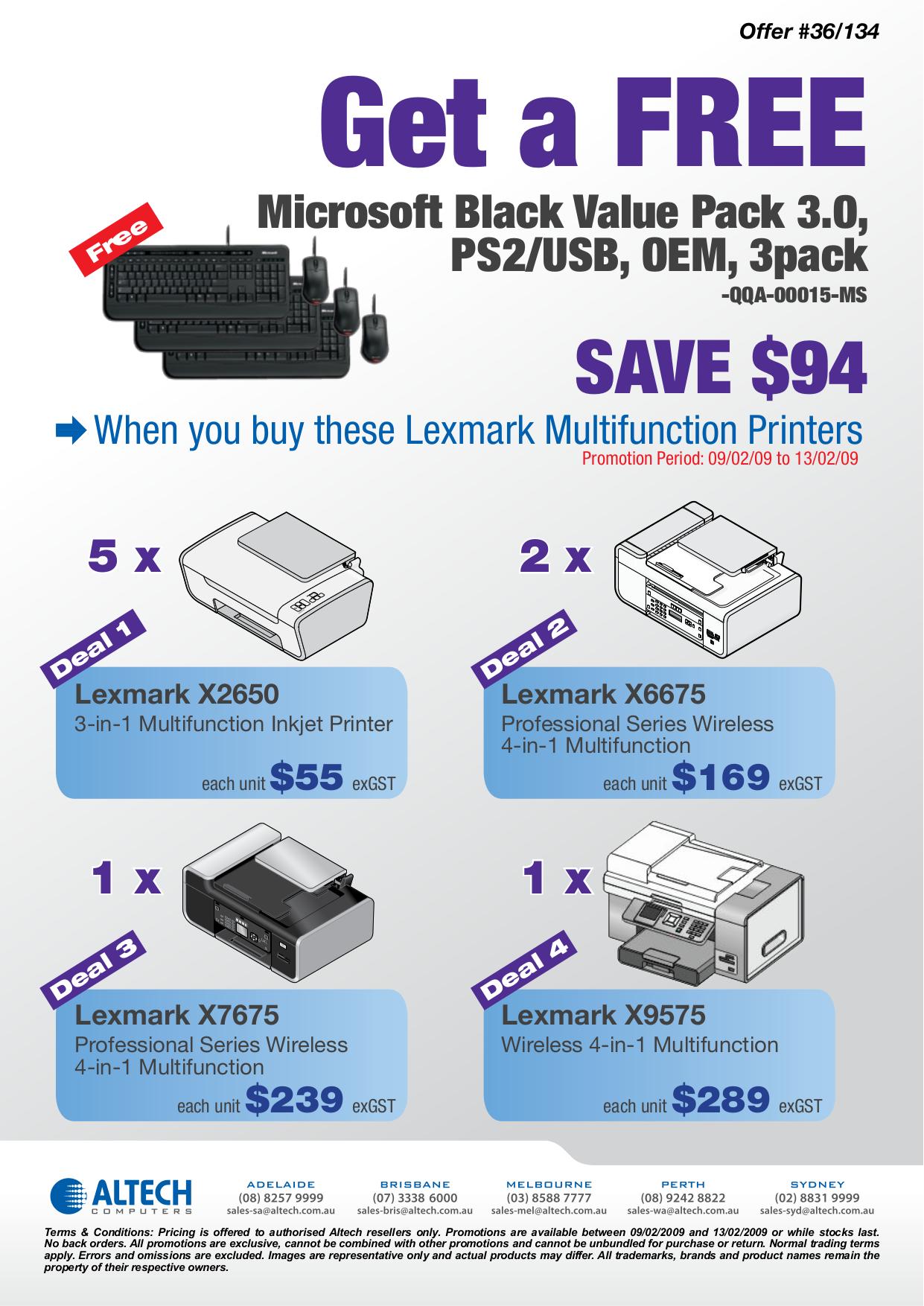Lexmark x2650 instructions.