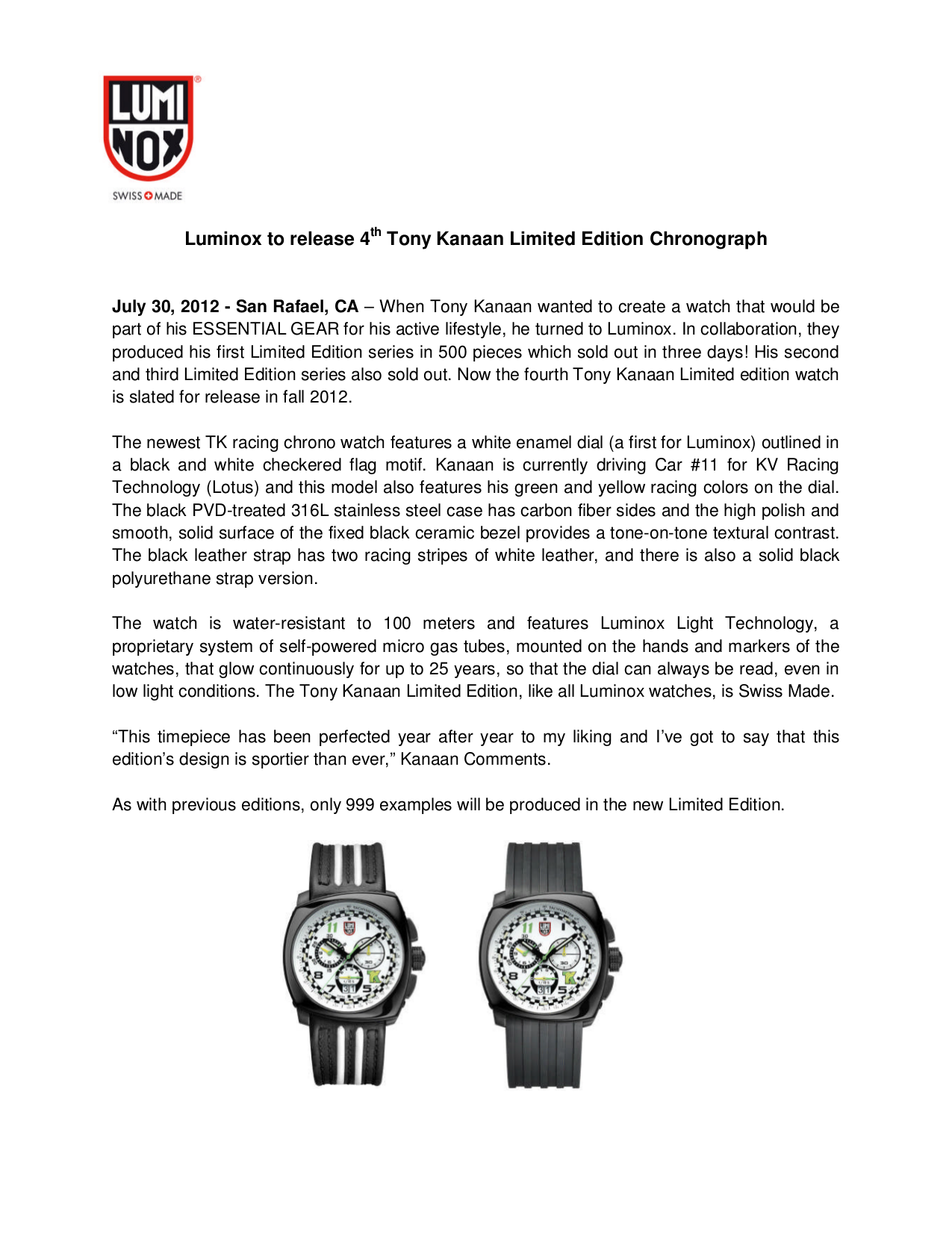 pdf for Luminox Watch Executive 2004 manual