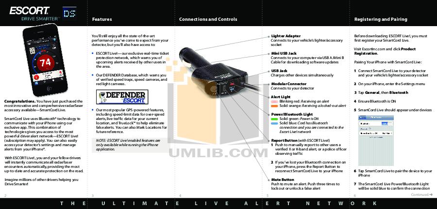 pdf for Beltronics Radar Detector Professional GX65 manual