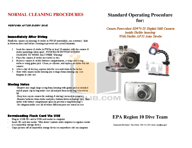 pdf for Canon Digital Camera Powershot SD970 IS manual