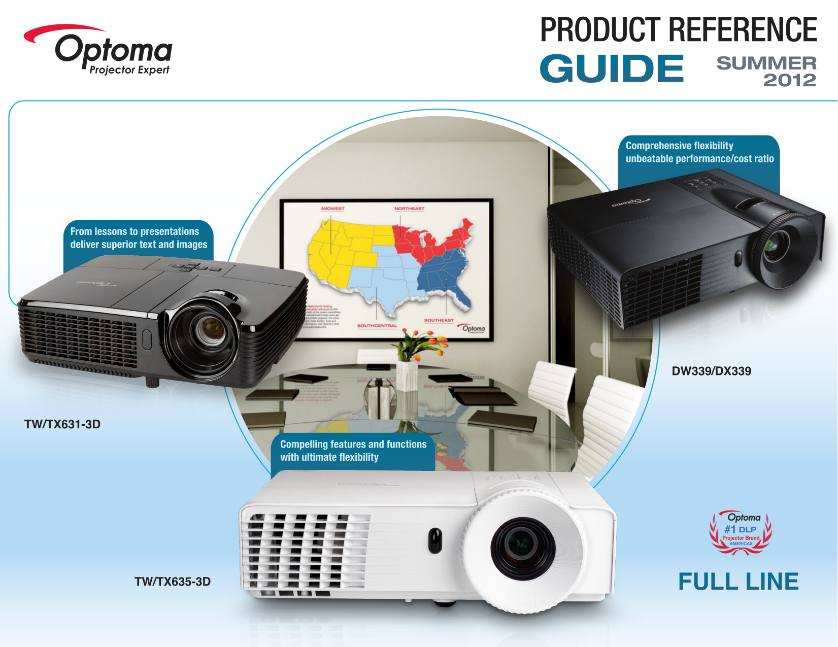 pdf for Optoma Projector TS551 manual