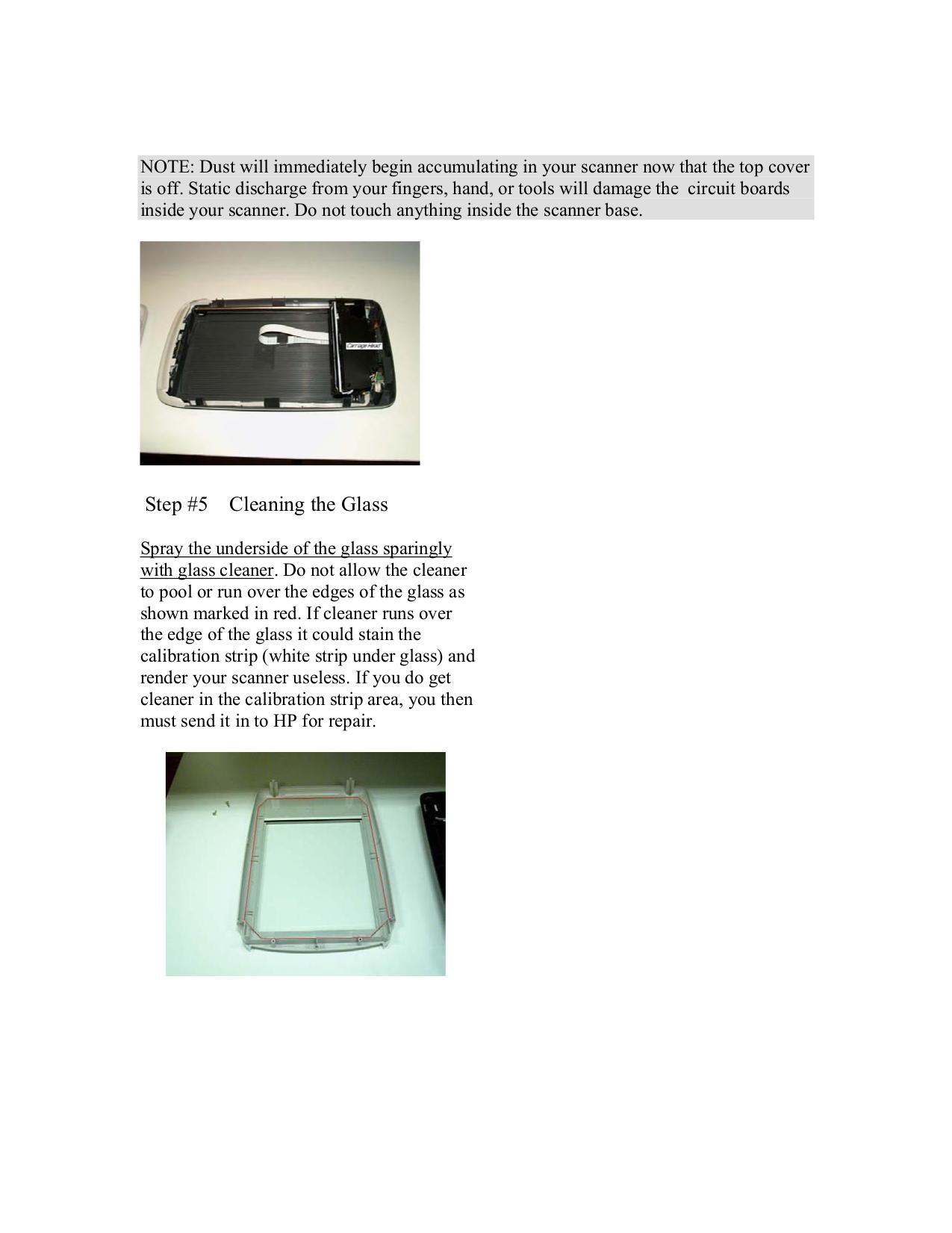 PDF manual for HP Scanner Scanjet 3570c