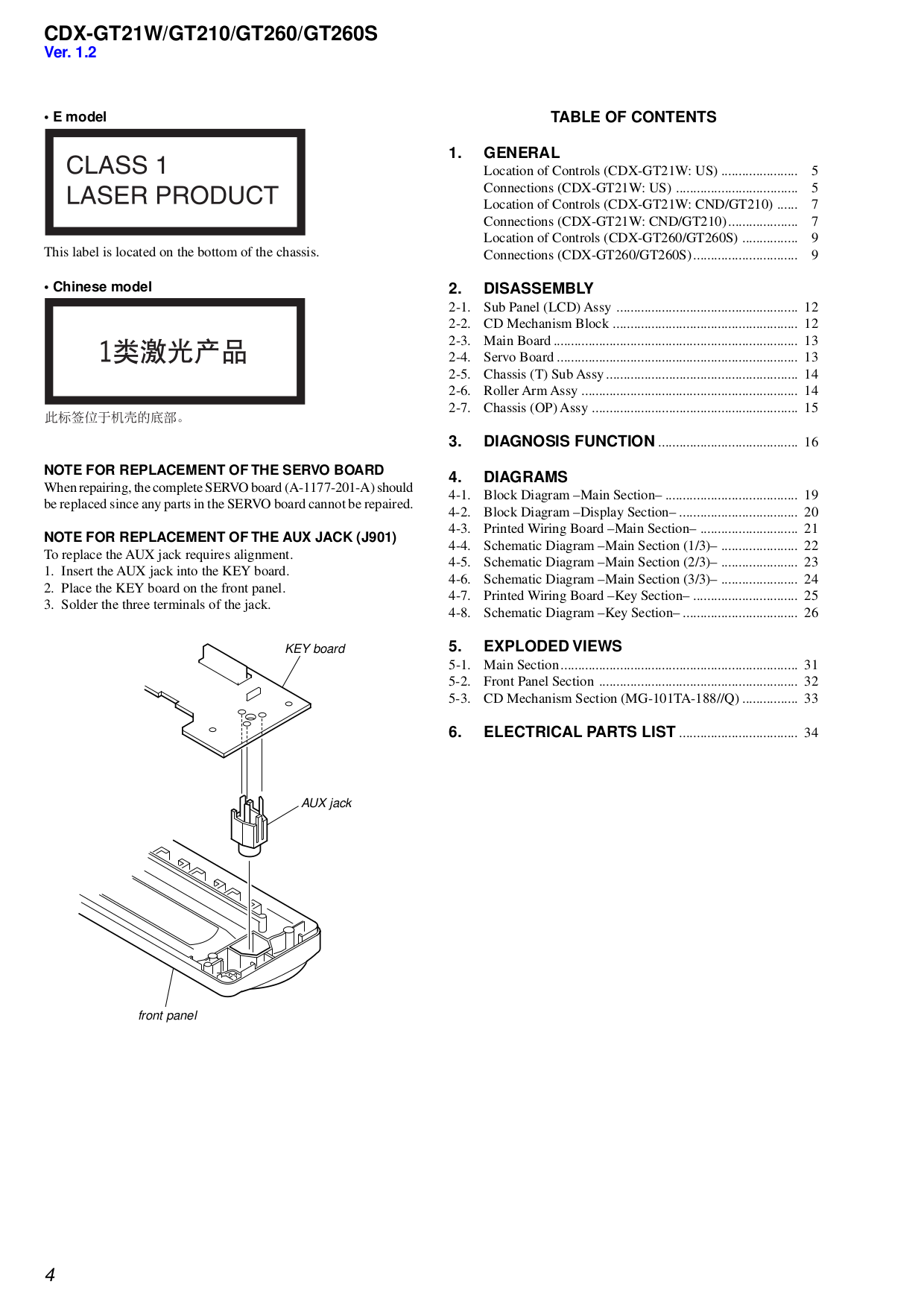 cdx gt21w gt210 gt260.pdf 3 pdf manual for sony car receiver cdx gt210 sony cdx gt210 wiring diagram at couponss.co