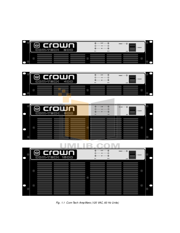 Crown Other PIP-102 Input Processors pdf page preview