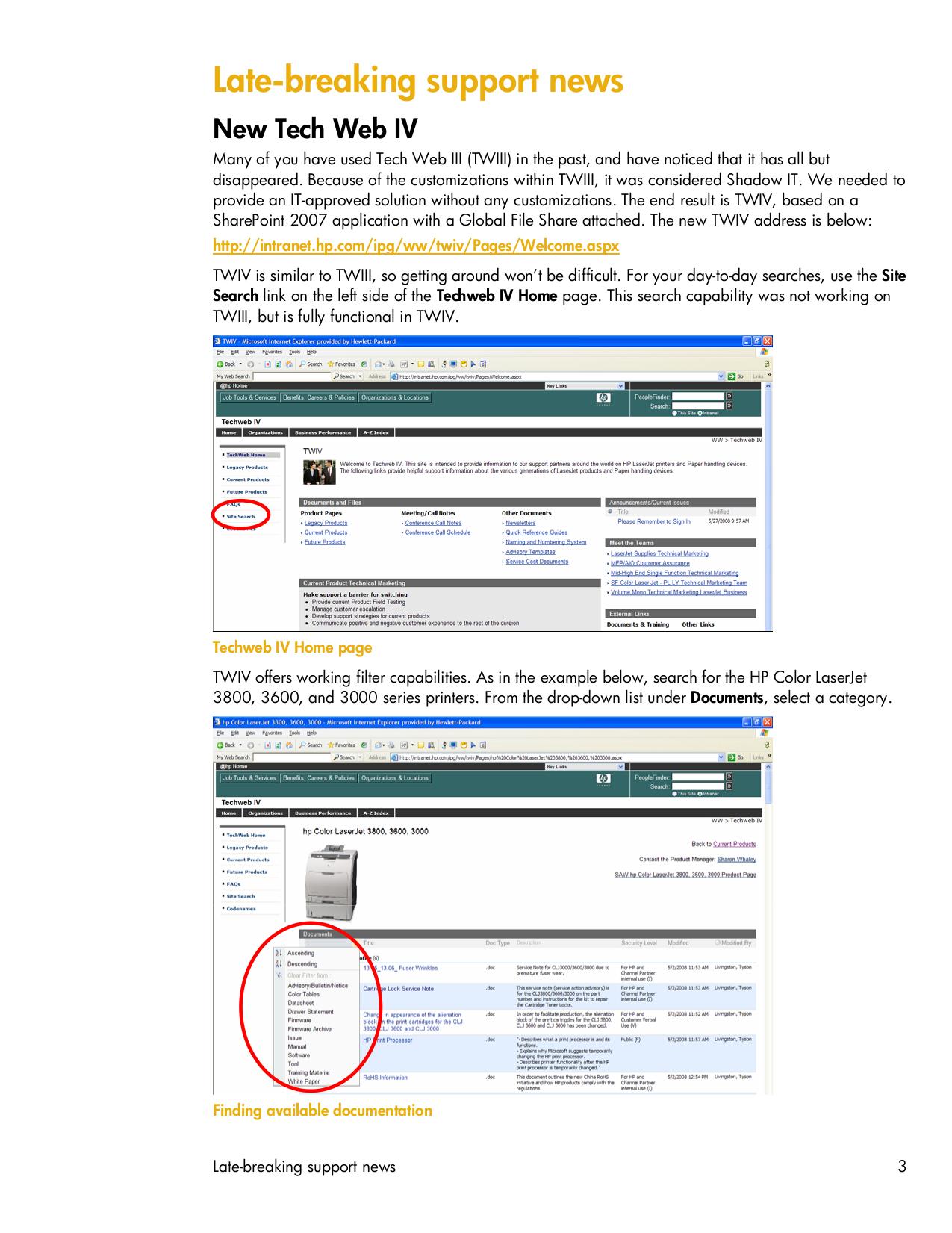 HP Multifunction Printer Laserjet,Color Laserjet 3392 pdf page preview