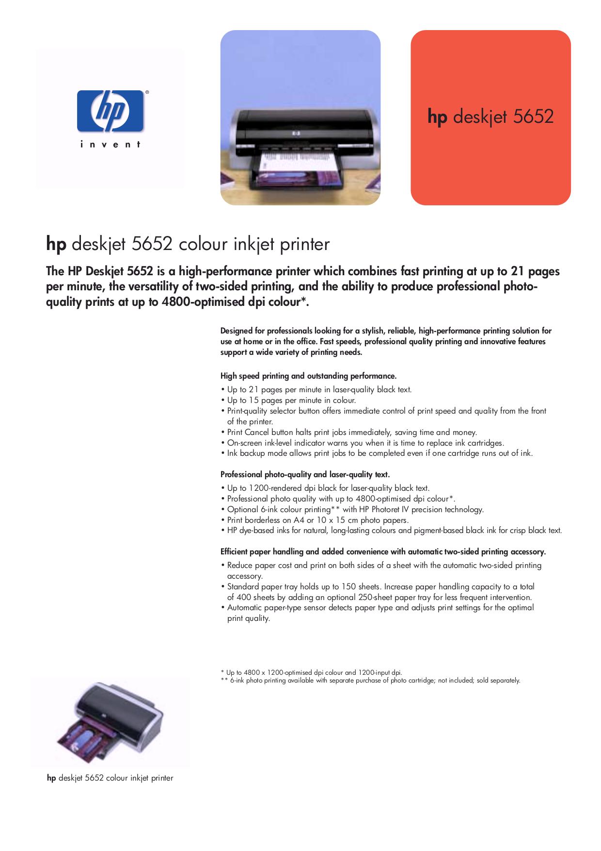 download free pdf for hp deskjet 5652 printer manual rh umlib com HP 2622 Deskjet Printer Manual hp deskjet 400 printer driver windows 7