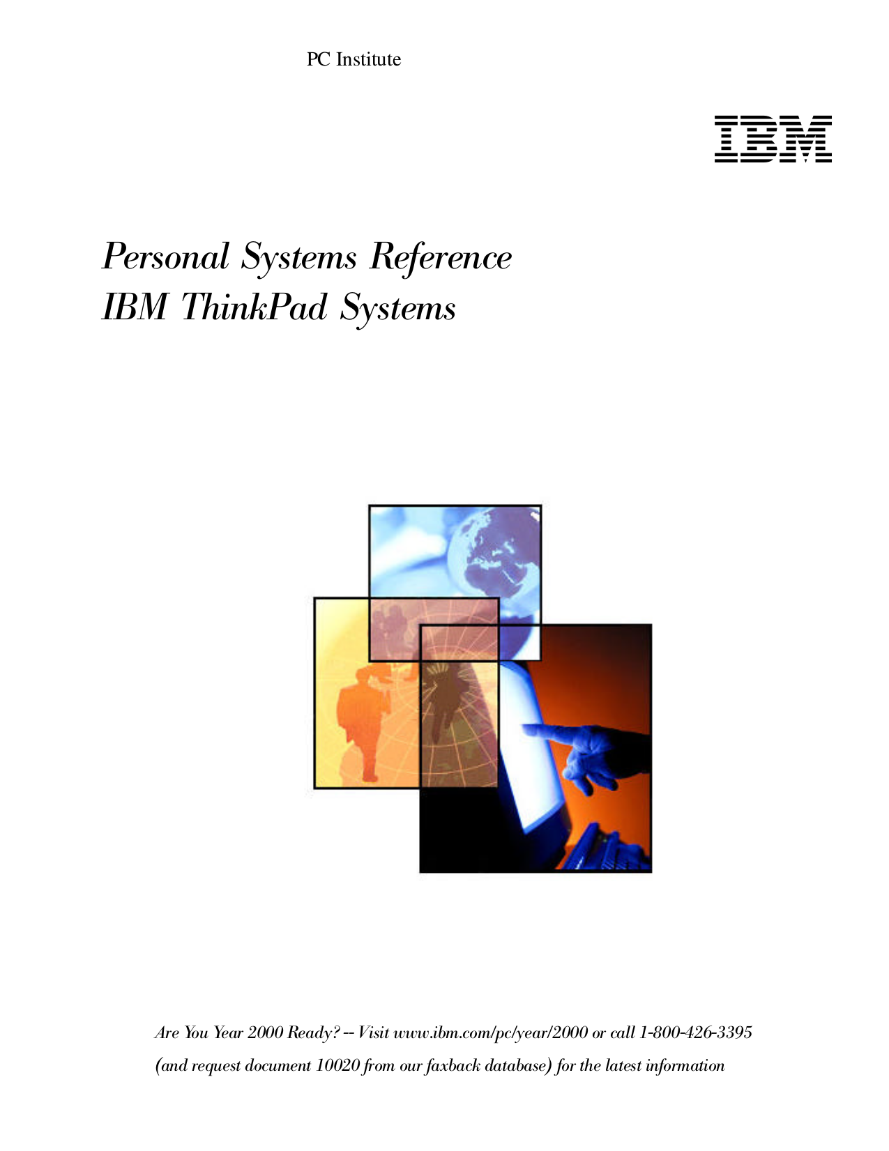 pdf for IBM Laptop ThinkPad 380Z manual