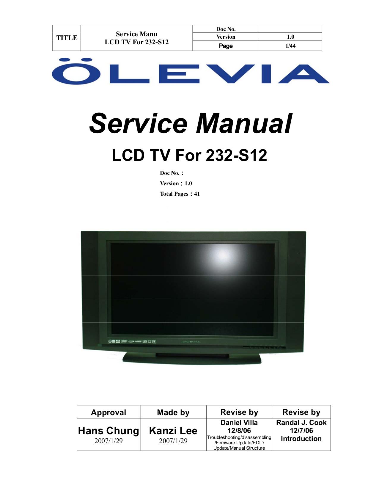 download free pdf for olevia 232v tv manual rh umlib com olevia 232-s12 manual olevia tv 232-t12 manual