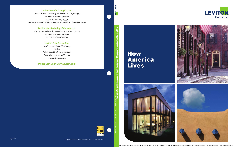 pdf for Leviton Speaker AEN24 manual