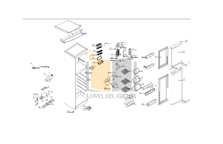 pdf for Avanti Refrigerator FF511W manual
