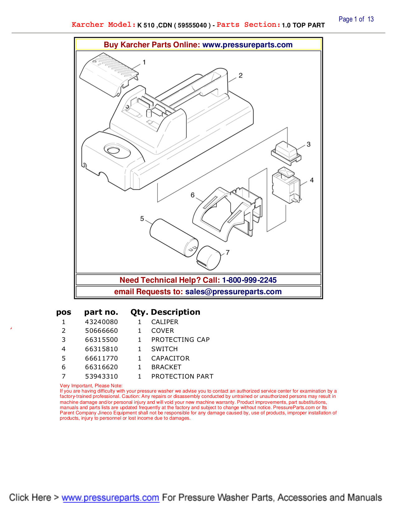 Washer Repair: Karcher Pressure Washer Repair Manual