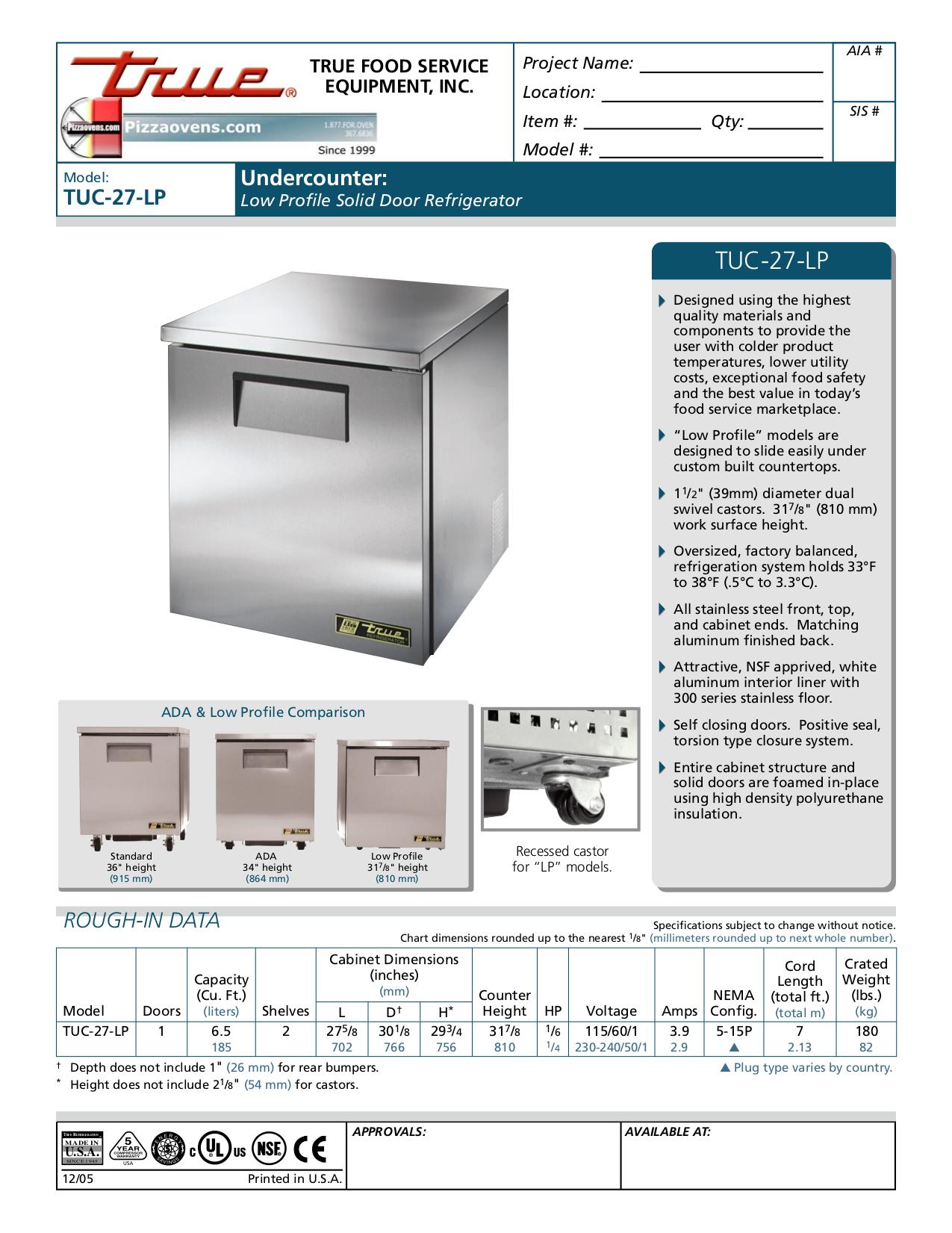 TrueTUC 27 LP.pdf 0 download free pdf for true tuc 27 lp refrigerator manual true tuc-48 wiring diagram at cos-gaming.co