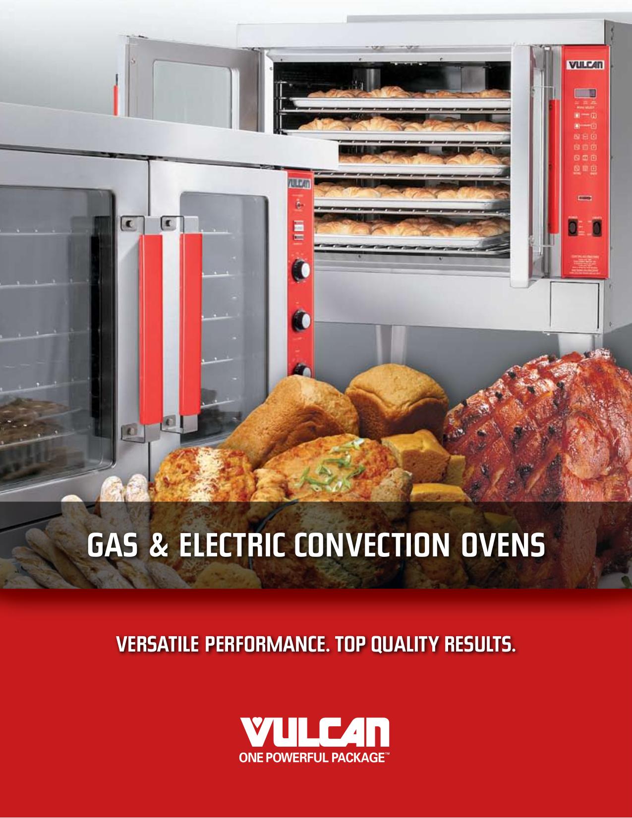 pdf for Vulcan Oven GCO22D manual