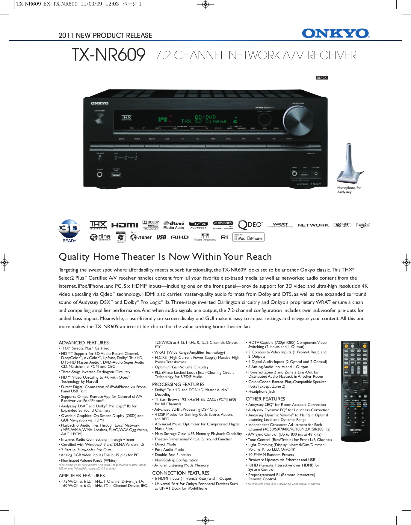 download free pdf for onkyo tx nr609 receiver manual rh umlib com Onkyo 609 Volume Level onkyo 609 service manual