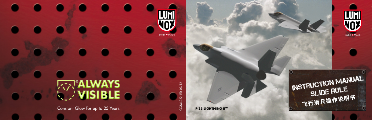 pdf for Luminox Watch 3097 manual