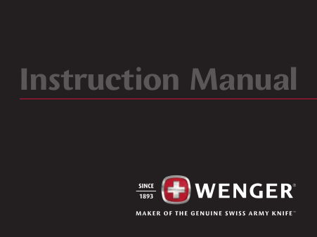 pdf for Wenger Watch 72950 manual