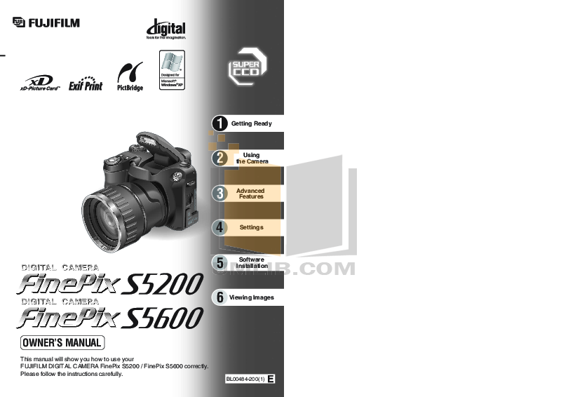 download free pdf for fujifilm finepix s5600 digital camera manual rh umlib com