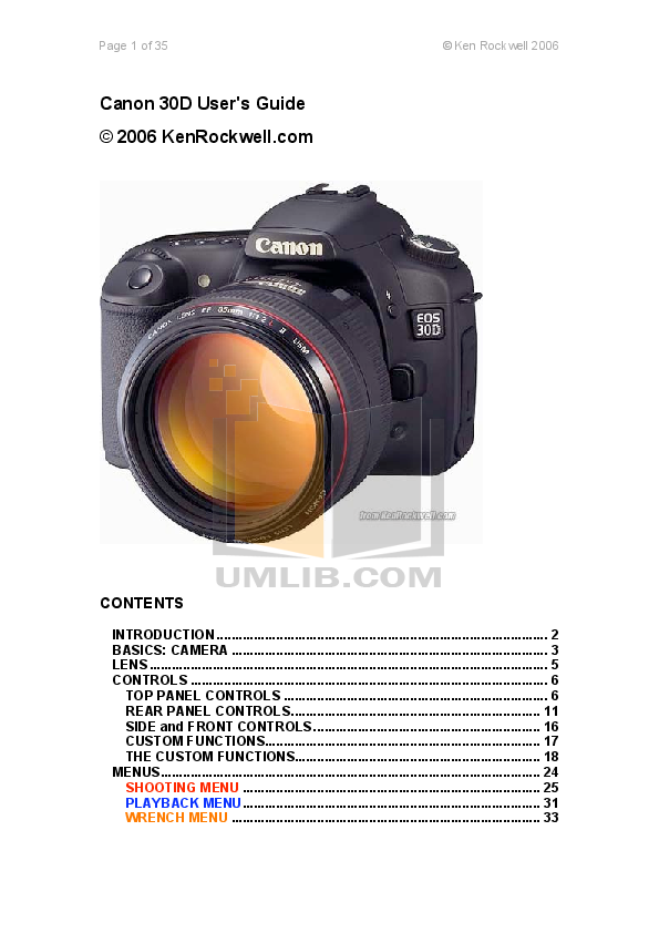 download free pdf for canon eos 30d digital camera manual rh umlib com canon 300d manual pdf canon 300d manual