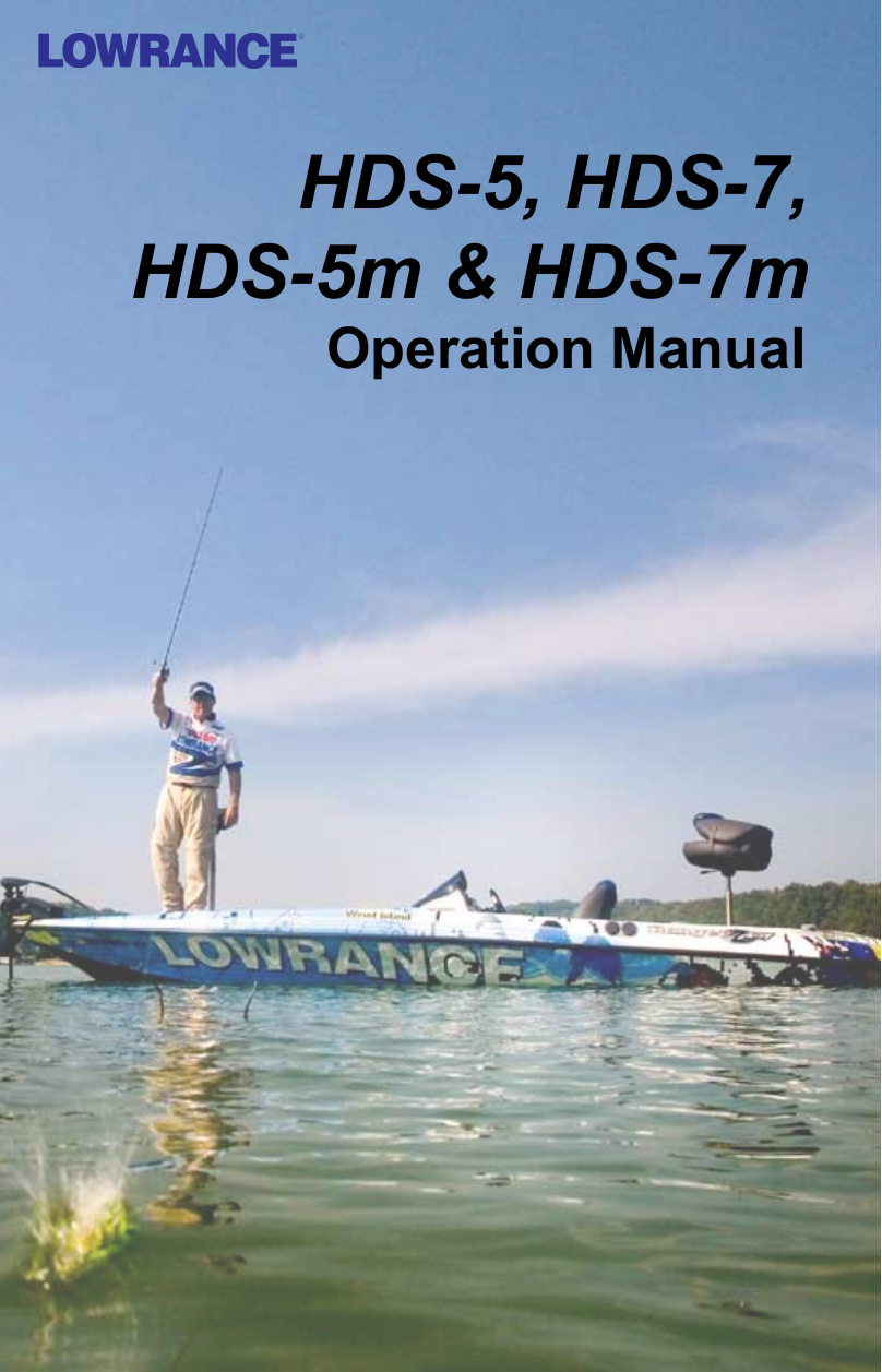 pdf for Lowrance GPS HDS-7 manual
