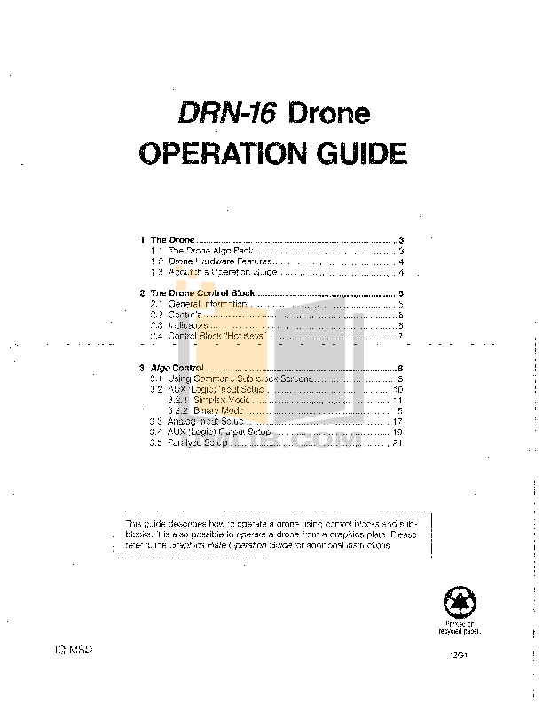 pdf for Crown Other DRN16 IQ Systems manual
