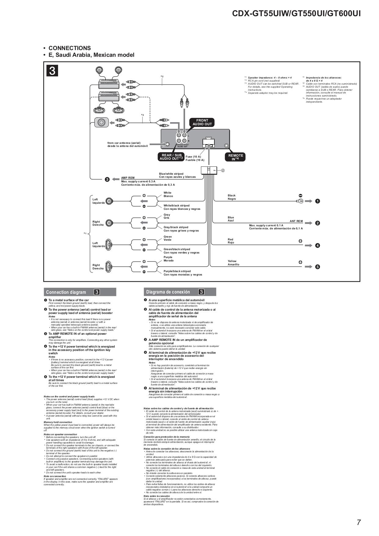 Bestseller  Sony Xplod 52wx4 Manual Pdf