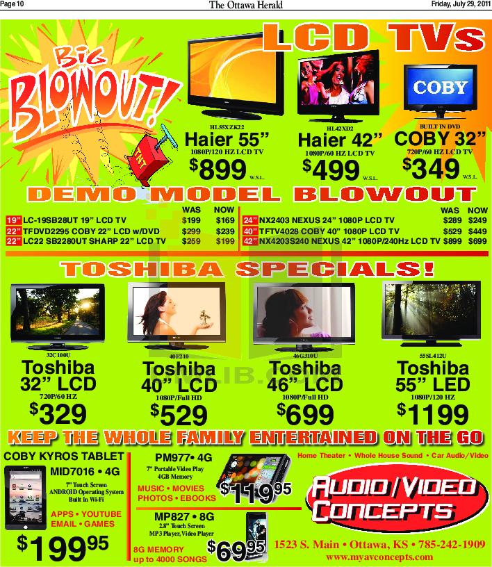 pdf for Haier TV HL55XZK22 manual