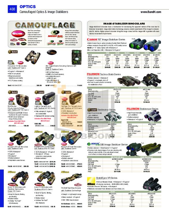 pdf for Atn Binocular PVS7-3A manual