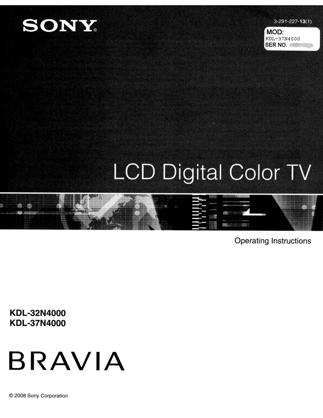 Sony tv manuals free pdf for sony tv bravia kdl 32n4000 manual fandeluxe Image collections