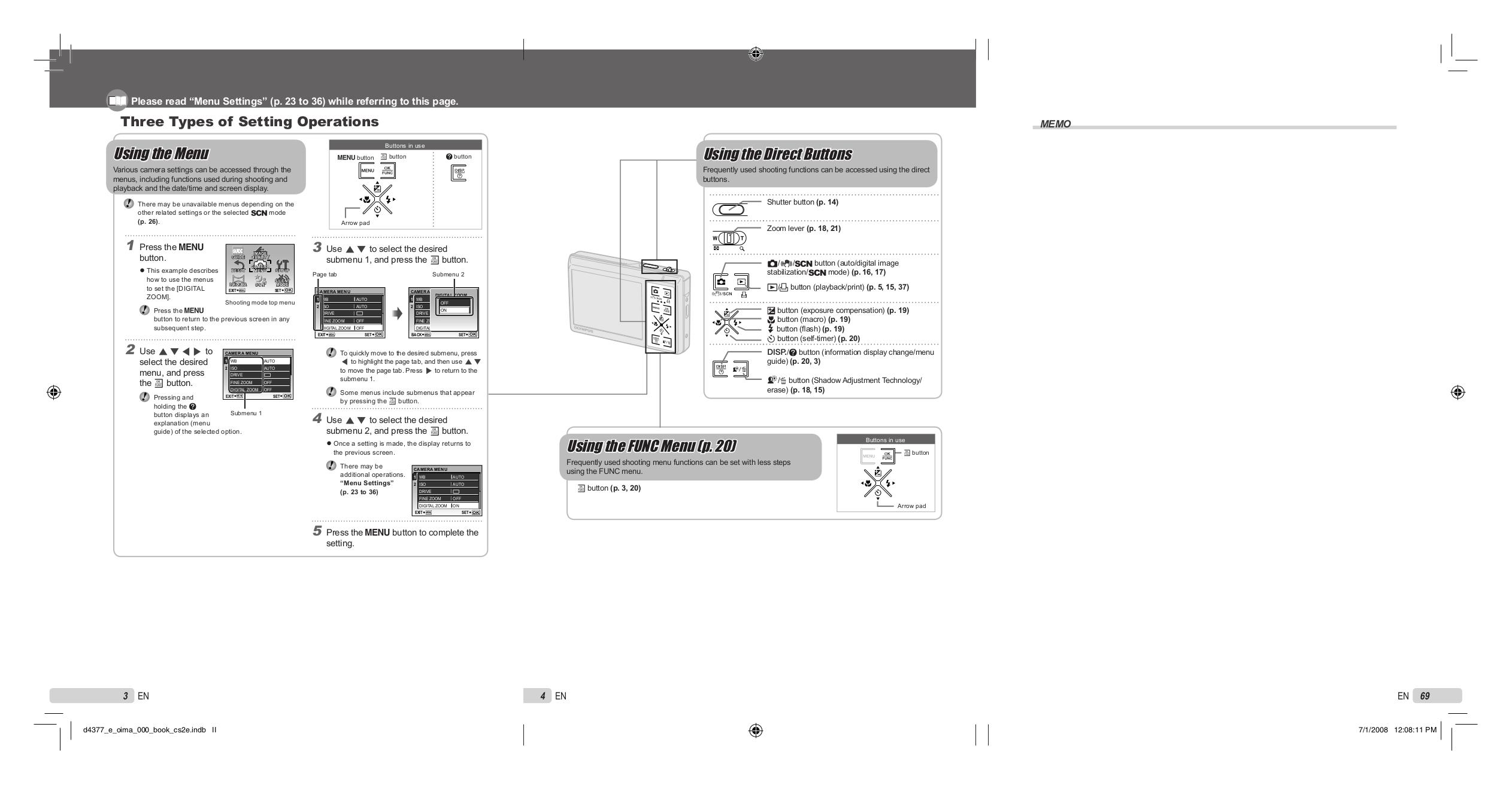 pdf manual for olympus digital camera stylus 1040 rh umlib com Olympus Mju Phots Olympus Mju Tough 6000