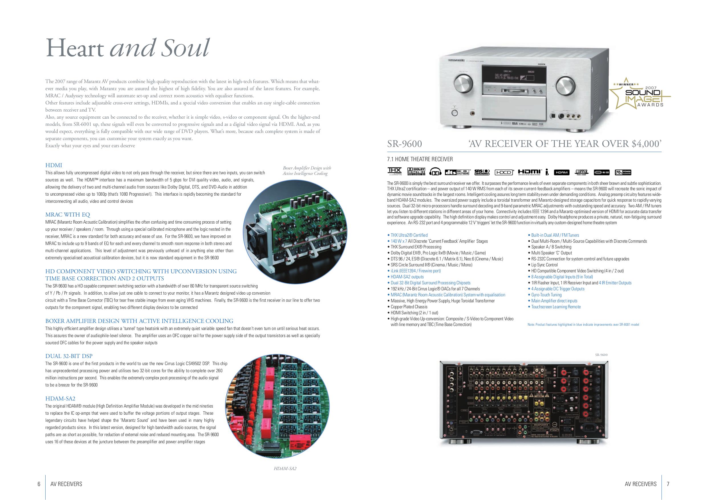 download free pdf for marantz sr9600 receiver manual rh umlib com Marantz SR9600 Inside Craigslist Marantz SR9600
