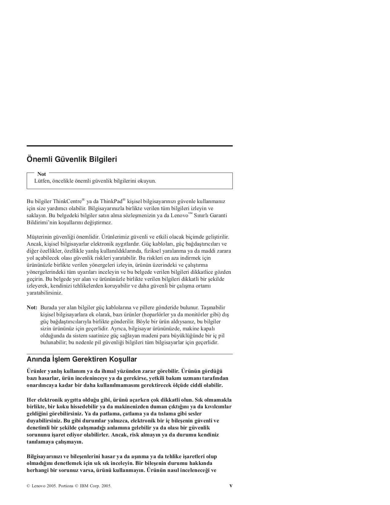 Lenovo Desktop ThinkCentre A52 8788 pdf page preview