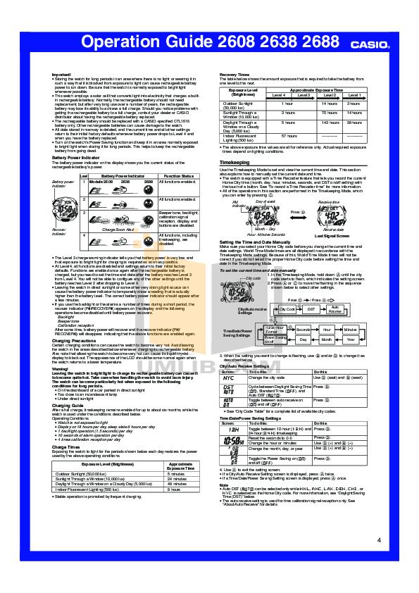 casio g shock manual 2688 basic instruction manual u2022 rh winwithwomen2012 com casio 2688 manual pdf Casio 2688 GW 330A