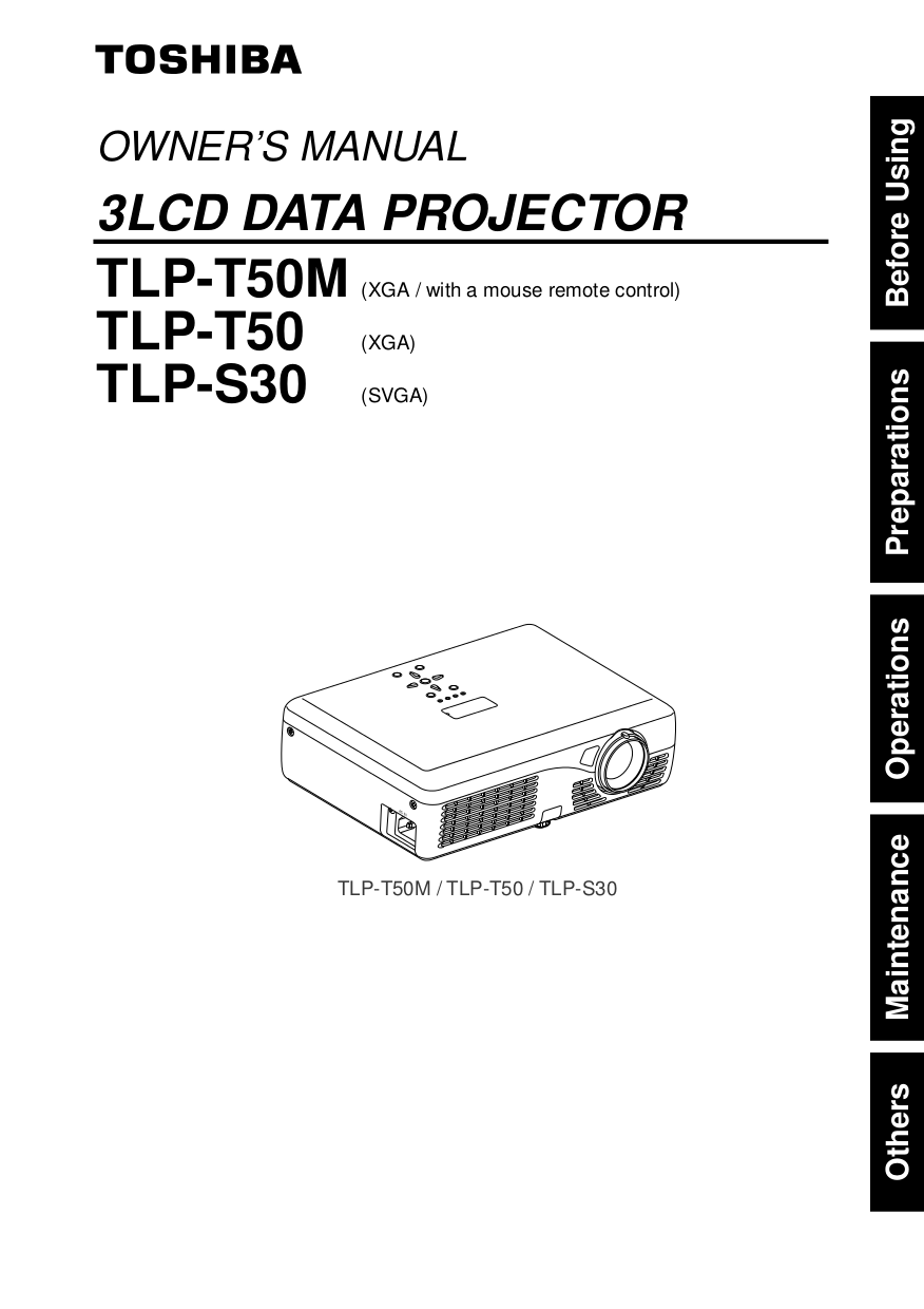 download free pdf for toshiba tlp 250 projector manual rh umlib com
