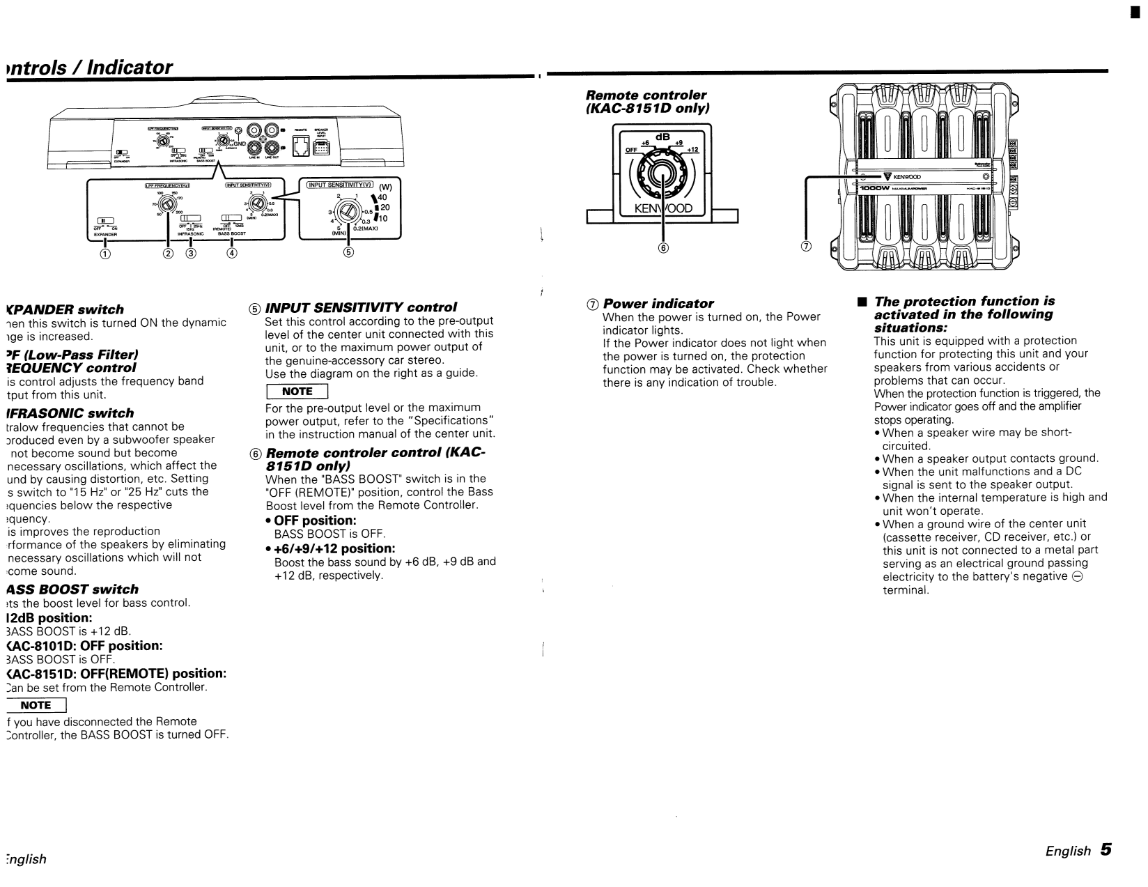 113kac8151.pdf 4 pdf manual for kenwood car amplifier kac 8101d kenwood kac 8101d wiring diagram at panicattacktreatment.co